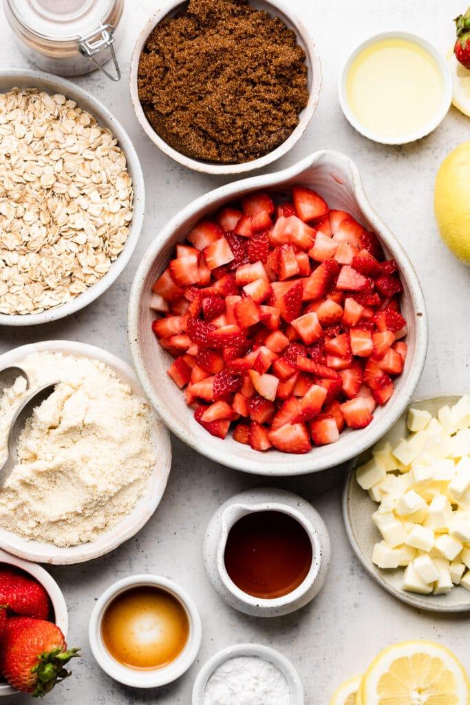 strawberry bar ingredients