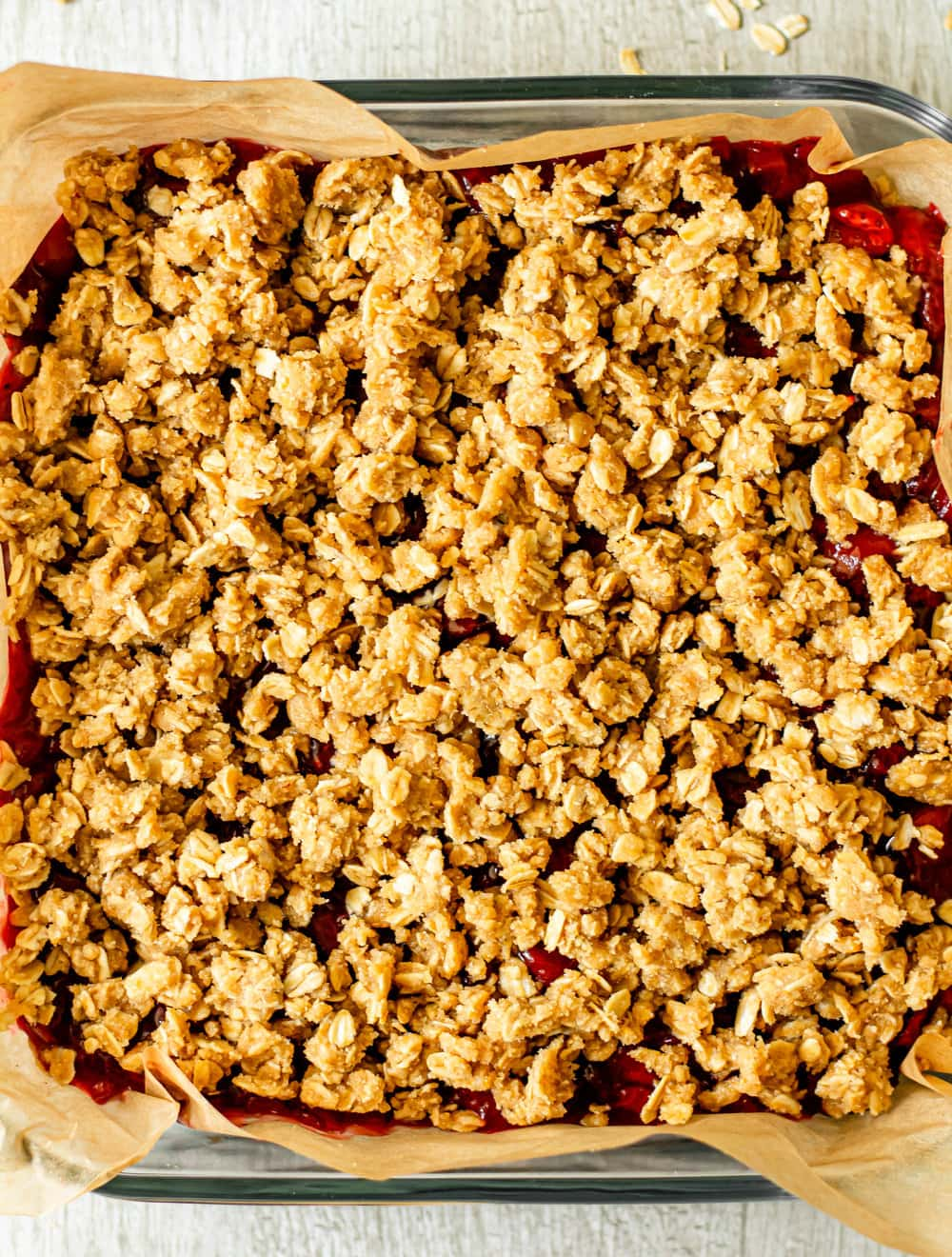 Gluten Free Strawberry Crumb Bars_before oven.jpg