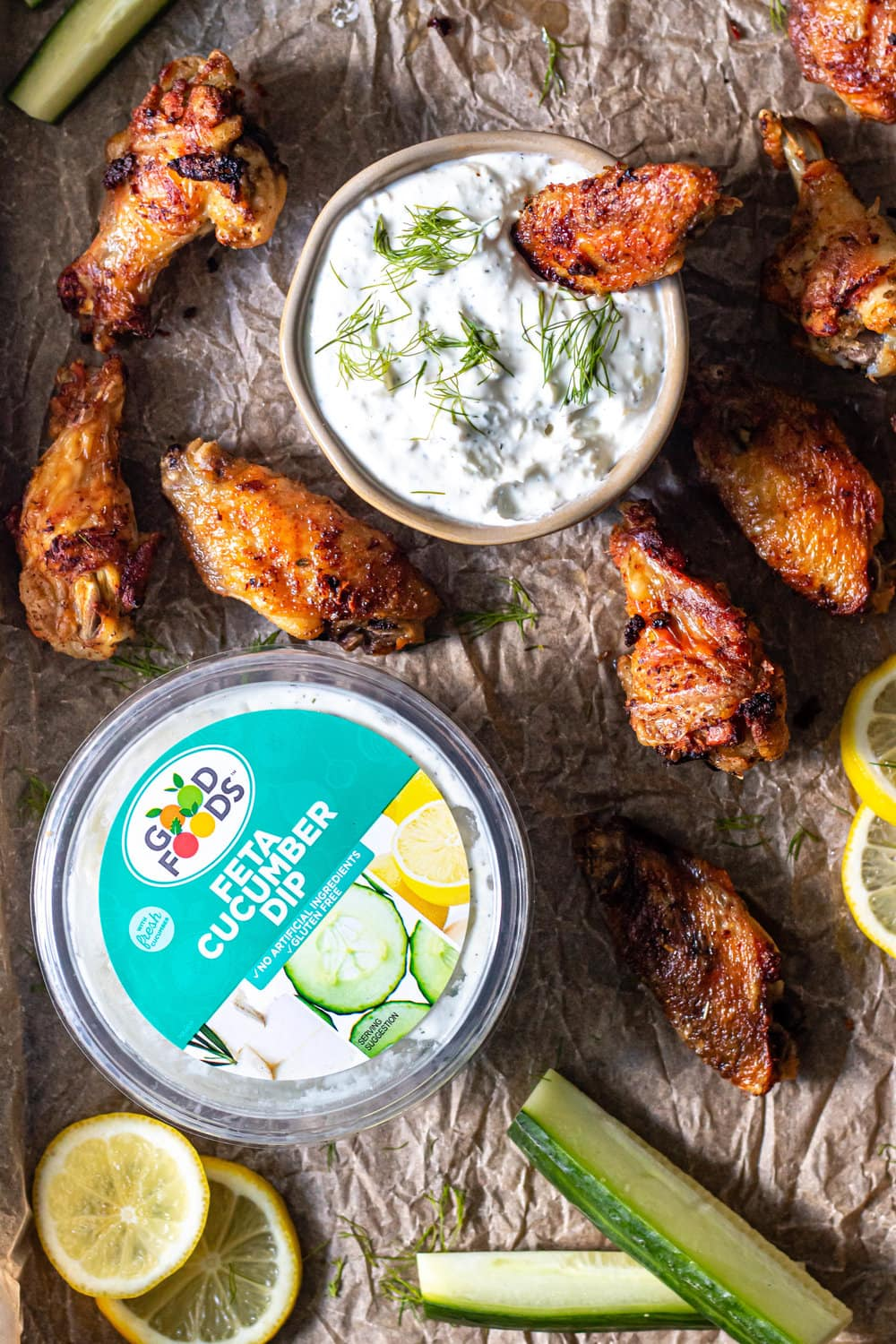 Greek Grilled Chicken Wings with Feta Cucumber Dip.jpg