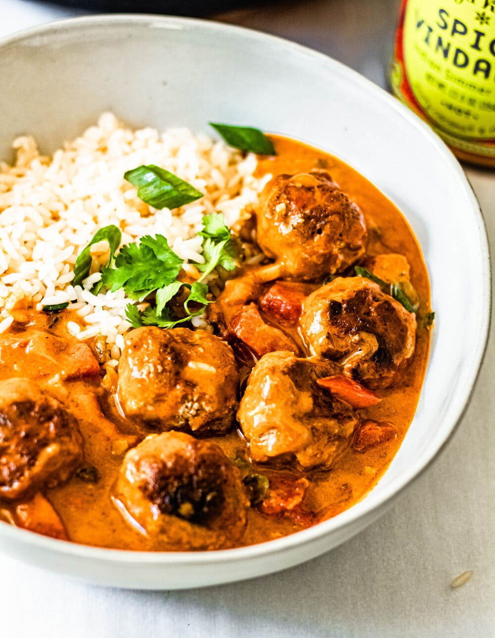 Spicy Vindaloo Meatballs with Perfectly Plain Rice_bowl shot.jpg