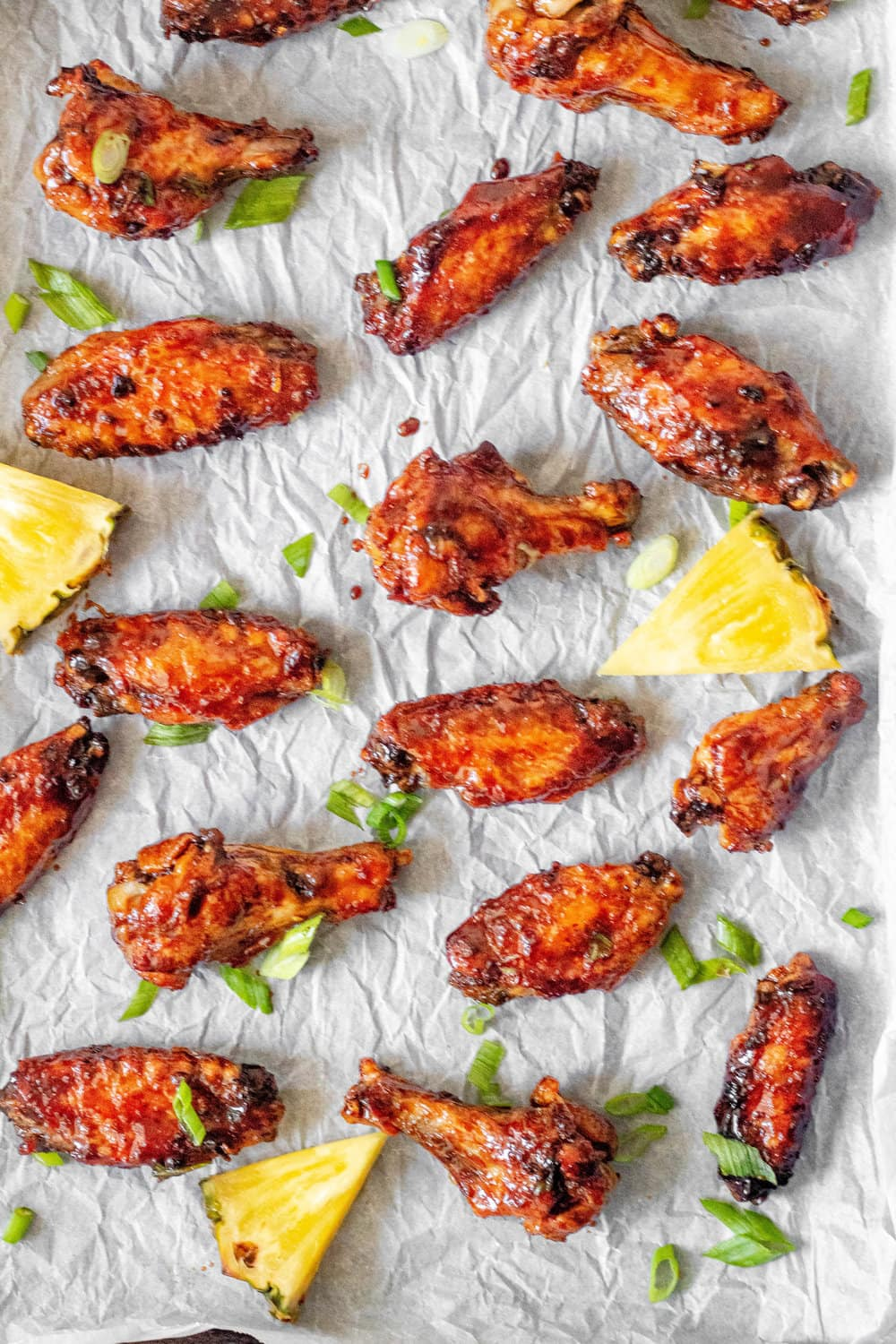 Whole30 Hawaiian Chicken Wings - aerial shot.jpg
