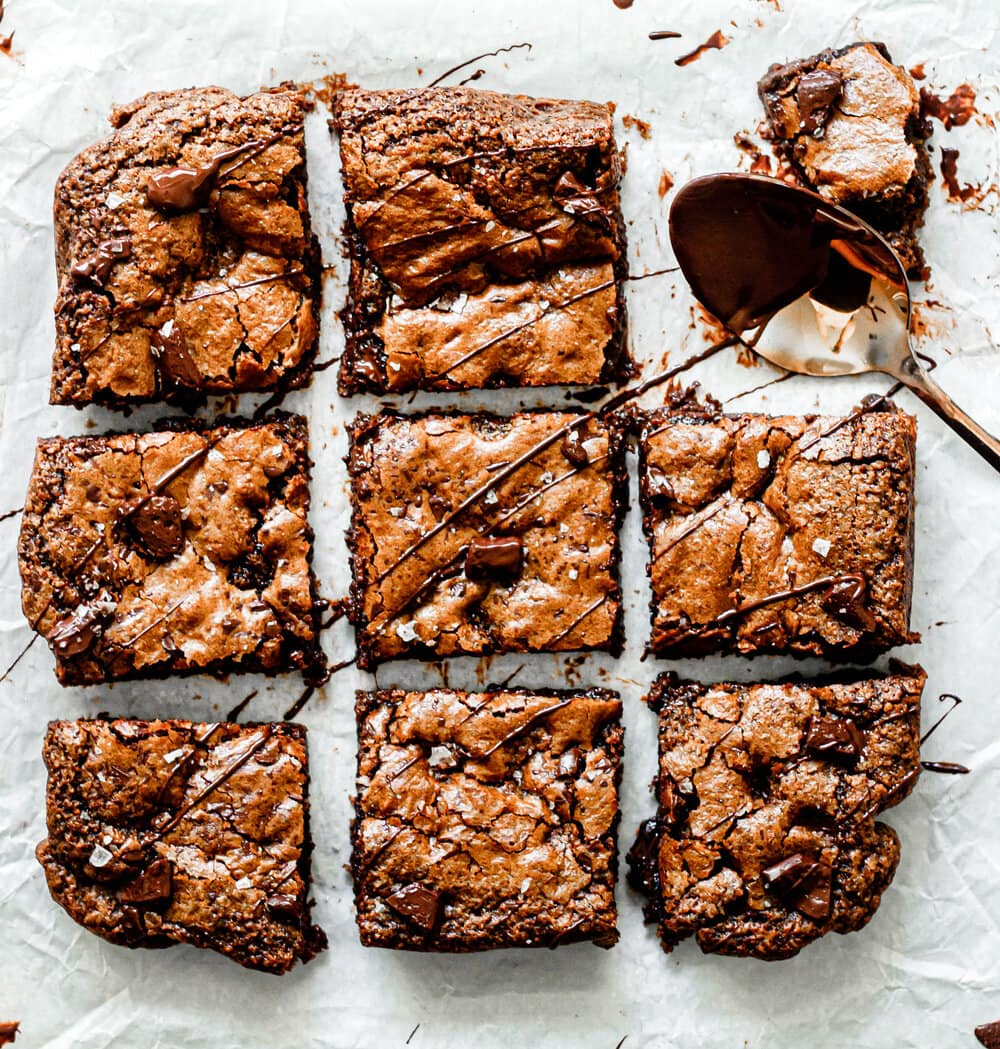 Gluten Free Triple Chocolate Chip Cookie Bars