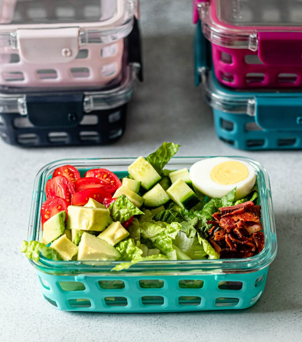 Easy Cobb Salad Meal Prep