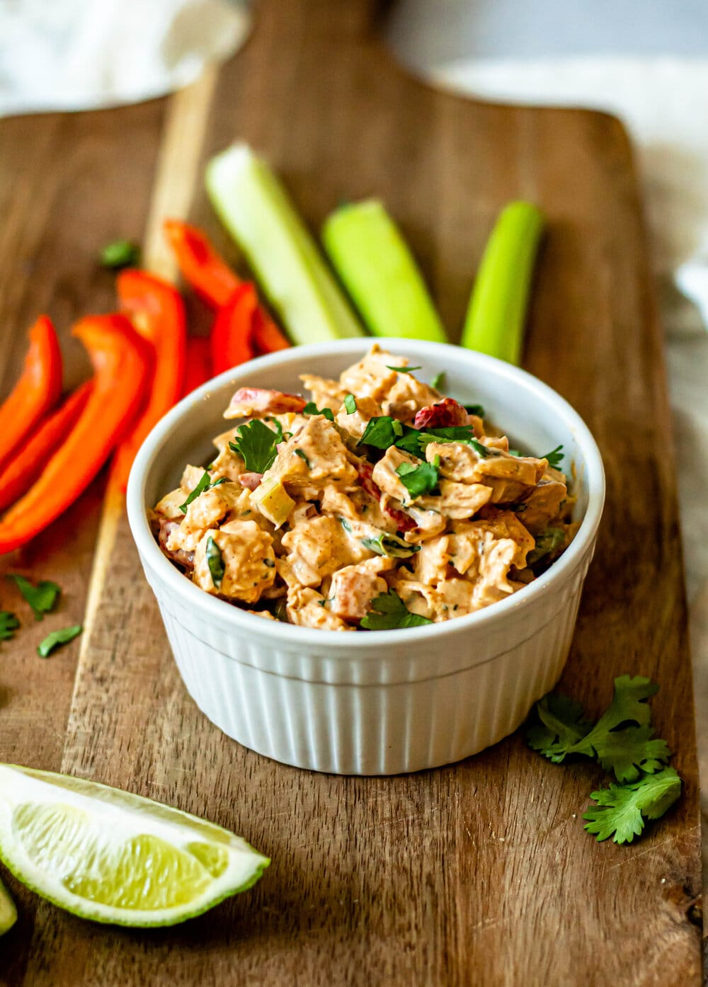 Chipotle Chicken Salad (Whole30, Paleo, Keto)