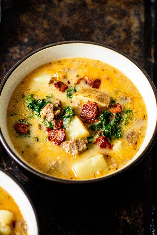 Whole30 Zuppa Toscana Soup (Dairy-Free + Paleo)