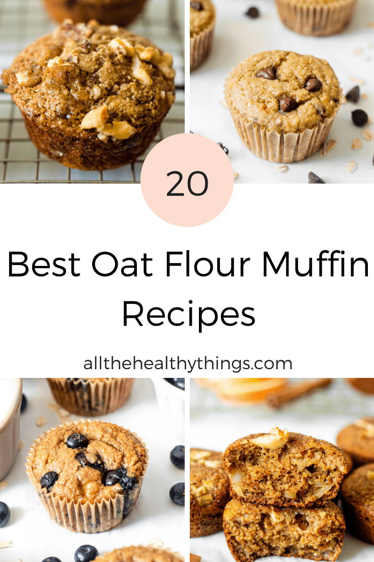 The Best 20 Oat Flour Muffin Recipes