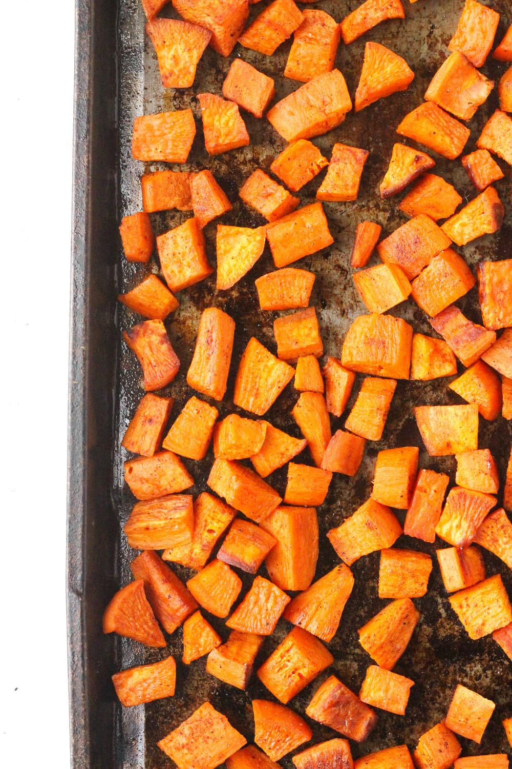Perfectly Roasted Sweet Potatoes