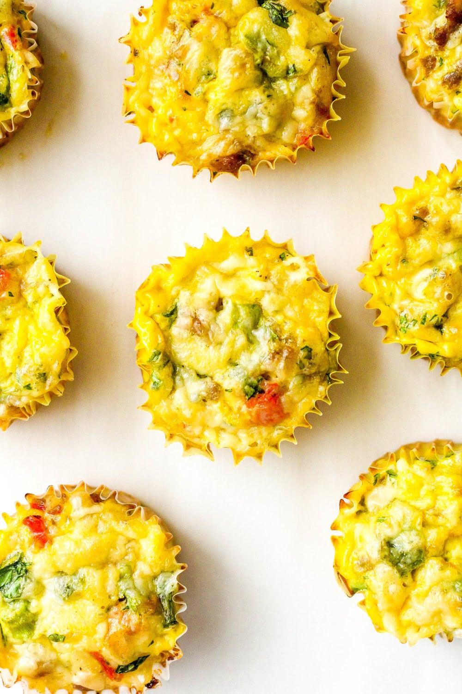 Loaded Breakfast Egg Muffins