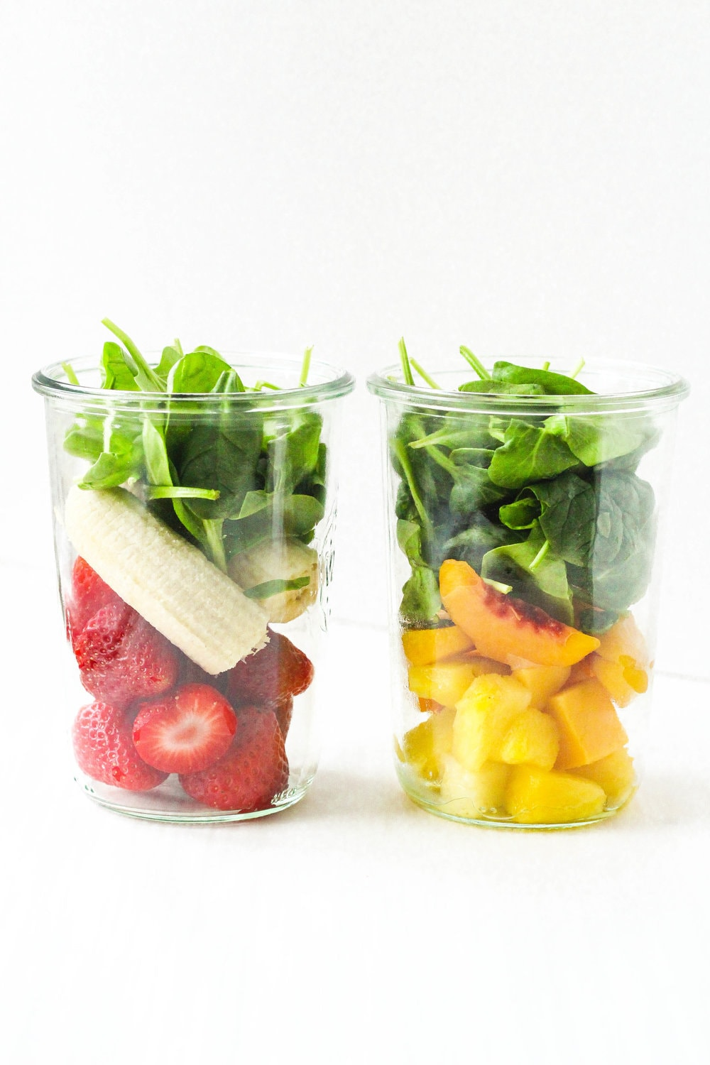 Simple Pre-Made Smoothie Jars
