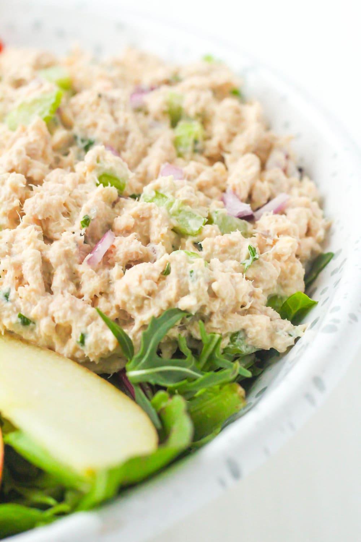Easy Whole30 Salmon Salad