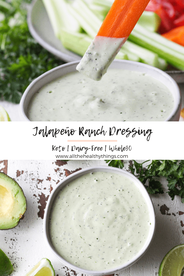 Whole30 Jalapeno Ranch Dressing