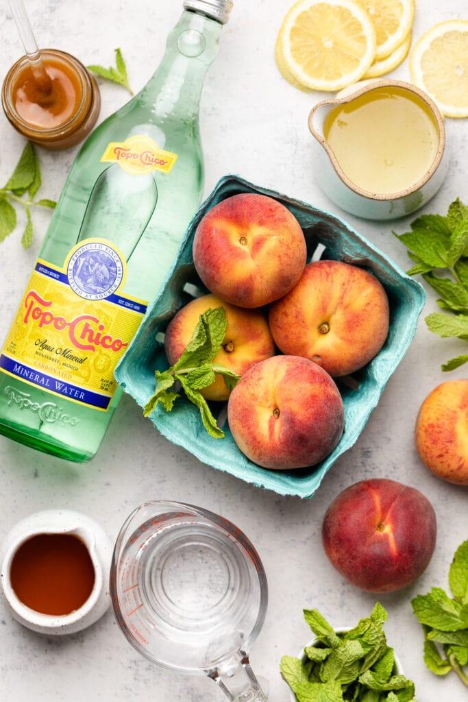 peach lemonade ingredients