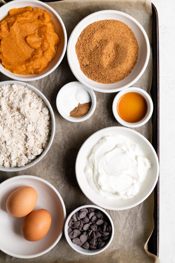 muffin ingredients