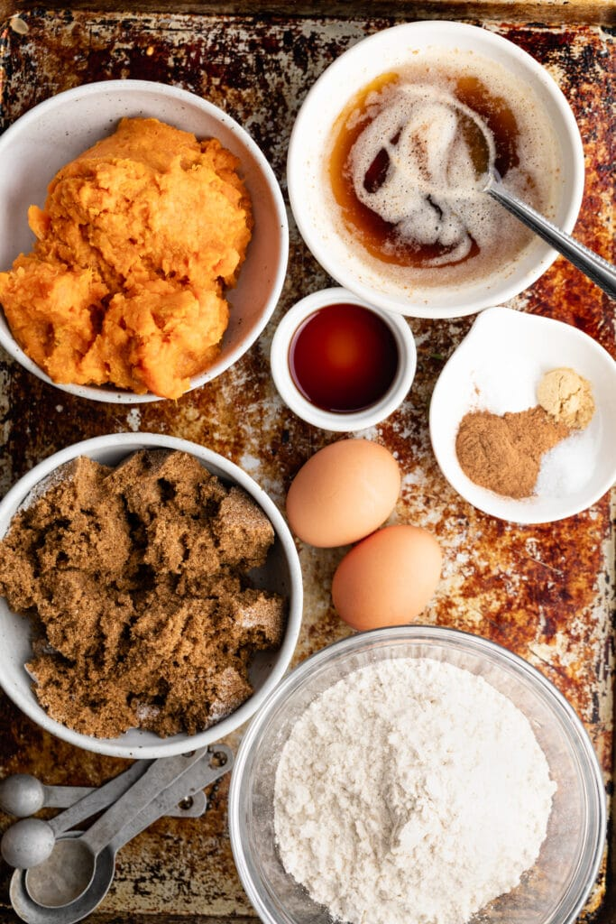 sweet potato bread ingredients