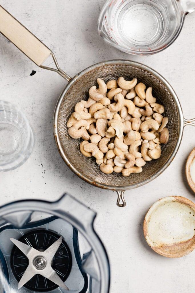 cashew milk ingredients