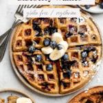 waffles on plates