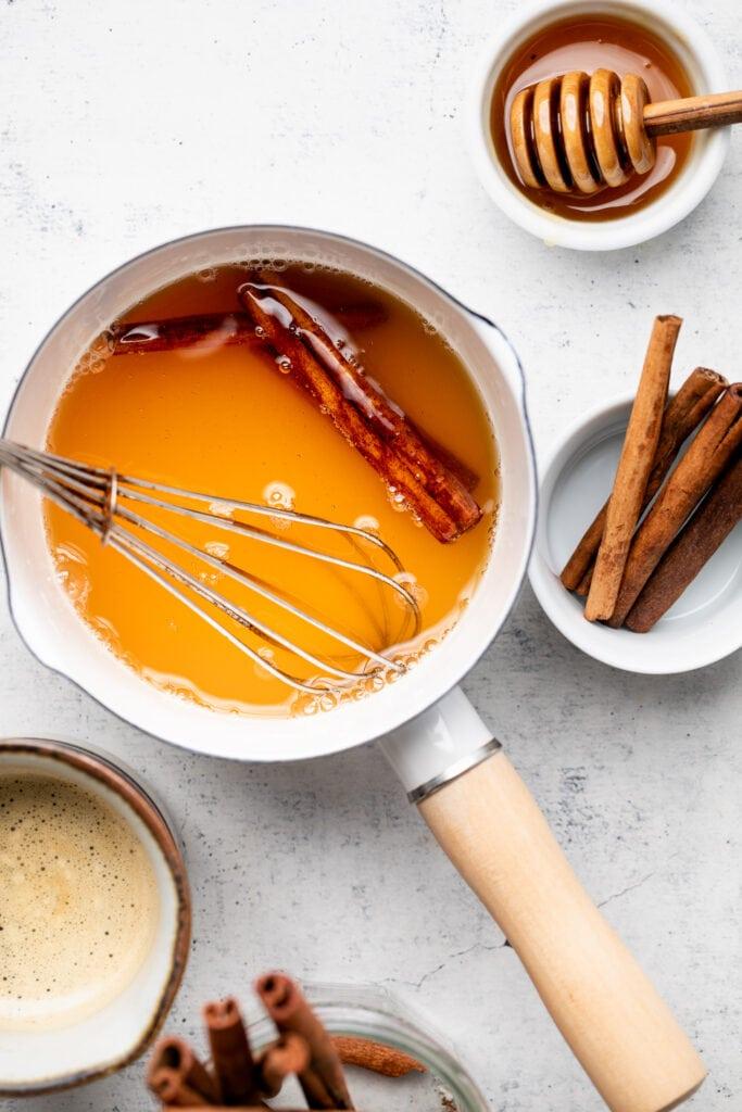 honey cinnamon simple syrup