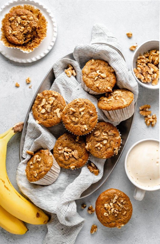 muffins in a platter