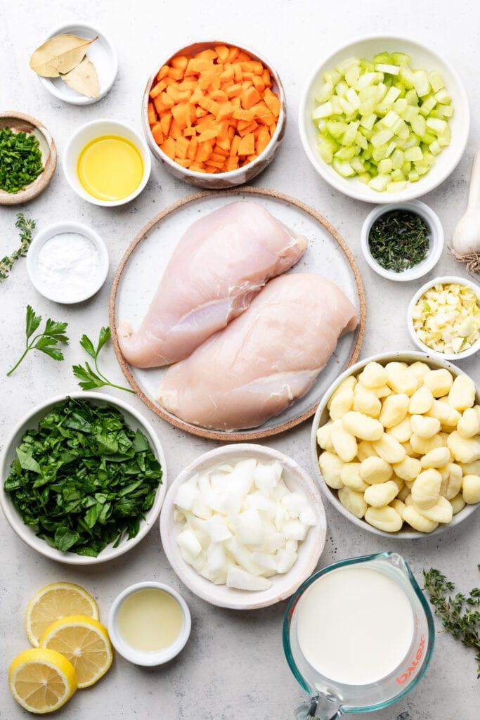 chicken gnocchi soup ingredients